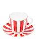Kaffee-Tasse mit Untertasse